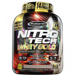NITRO TECH 100% WHEY GOLD ( 2.72kg )