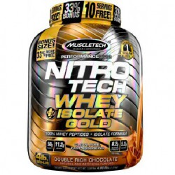 NITRO TECH WHEY PLUS ISOLATE GOLD (1,814kg)